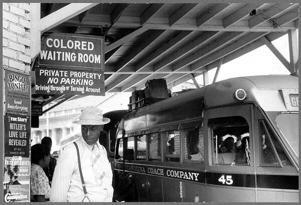 discrimination of black people in america before 1960